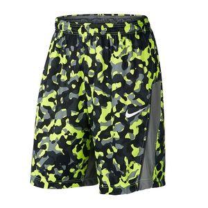 Nike Dri Fit Dynamo Camo Basketball Shorts sz Med